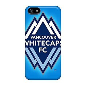Hard Cell-phone Cases For Apple Iphone 5/5s (Bik32336dpel) Support Personal Customs Trendy Vancouver Whitecaps Image