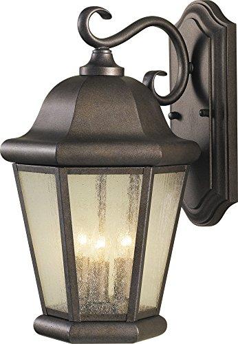 Murray Feiss OL5902CB Martinsville Wall Lantern, 3 Light, 180 Watts, Corinthian Bronze - Bronze Corinthian Corinthian Design