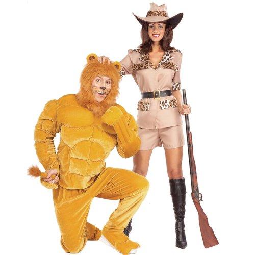 Twosomes-Safari So Goodie Costume (Men's Adult Regular Size) ()