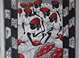 The Avant-Garde Art - Home Decor Wall Canvas Painting Hand Painted On Canvas 55''W x 41''H Africa Native African Caribbean Island Women With Pots Baskets Fruits & Taino Symbols (Unframed) 3D Canvas Art