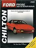 Ford Probe, 1989-1992, Nichols/Chilton Staff and Chilton, 0801982669