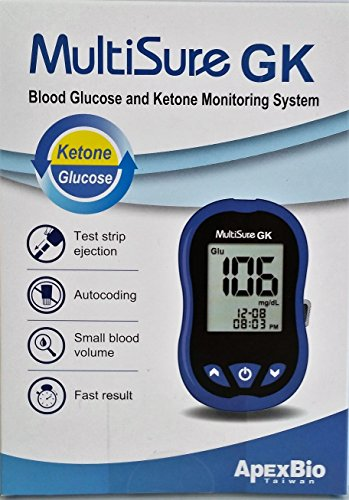 New MULTISURE Ketones and Blood Sugar Monitor. by Apex (Image #1)