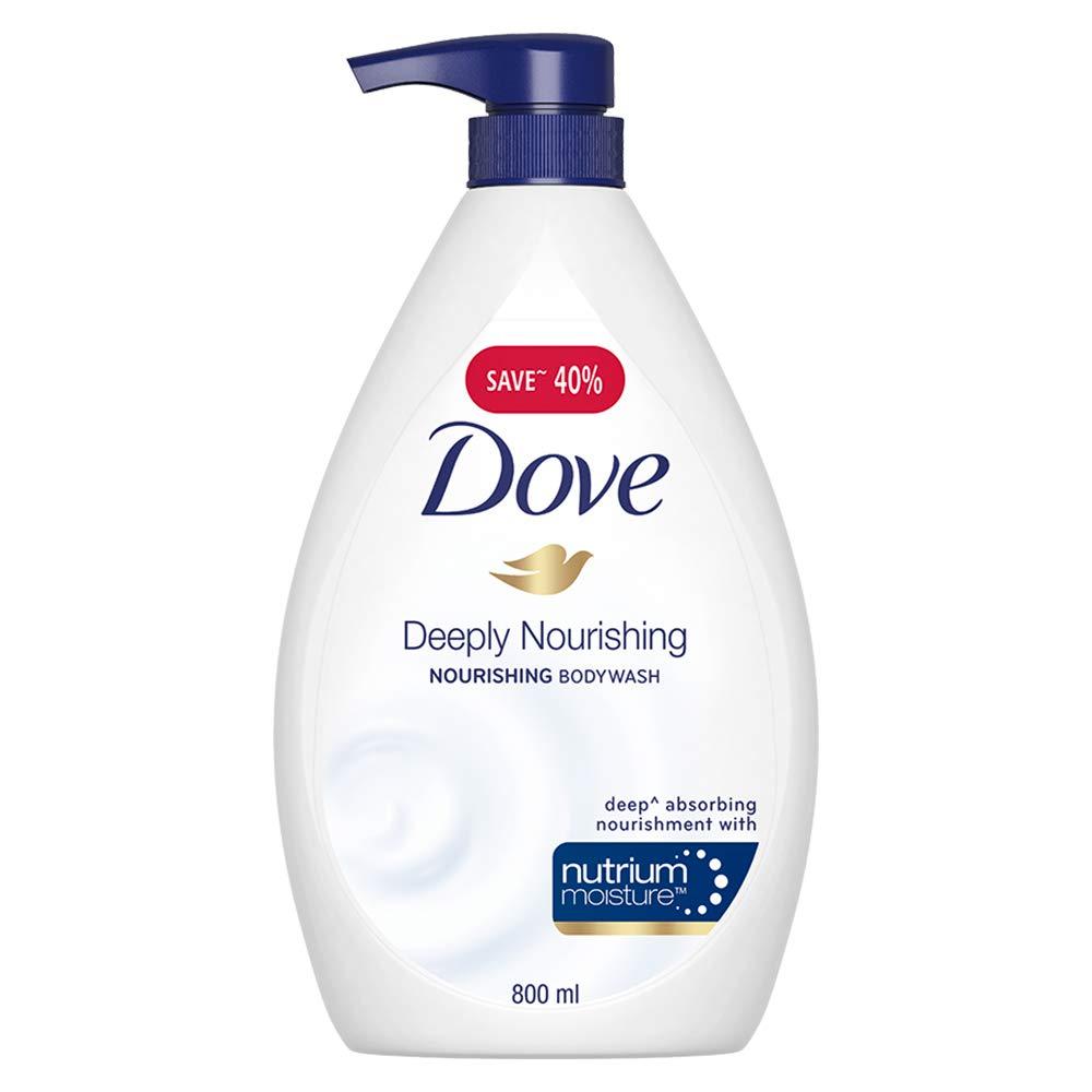Dove Deeply Nourishing Body Wash, 800 ml