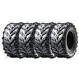 Set of 4 16x8.00-7 ATV UTV ATV Tires New Pack of four tires (205/55-7) | P133 Mud Tread