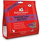 Stella & Chewy's Freeze-dried Raw Tantalizing Turkey Meal Mixers for Dogs, 3.5 oz.