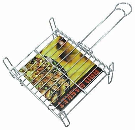 Supreminox - Parrilla Barbacoa Doble con Patas - Medidas: 45X50Cm: Amazon.es: Hogar