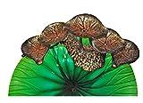 Continental Art CAC2818421 Lotus Leaf Metal