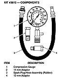 INNOVA 3612 Compression Tester - 4 Piece Kit
