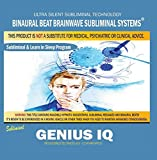 Genius Iq: Combination of Subliminal & Learning While Sleeping Program (Positive Affirmations, Isochronic Tones & Binaural Beats) by Binaural Beat Brainwave Subliminal Systems