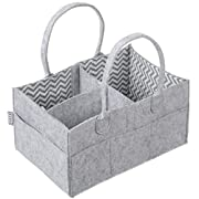 Baby Diaper Caddy & Organizer - Storage for Nursery, Changing Table, Car | Perfect Baby Shower or Registry Gift