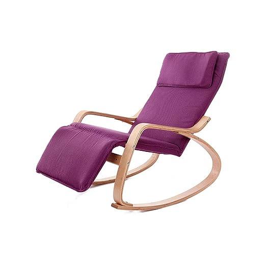 Miaoliangliang Cómoda Silla Mecedora Relax con Diseño De ...