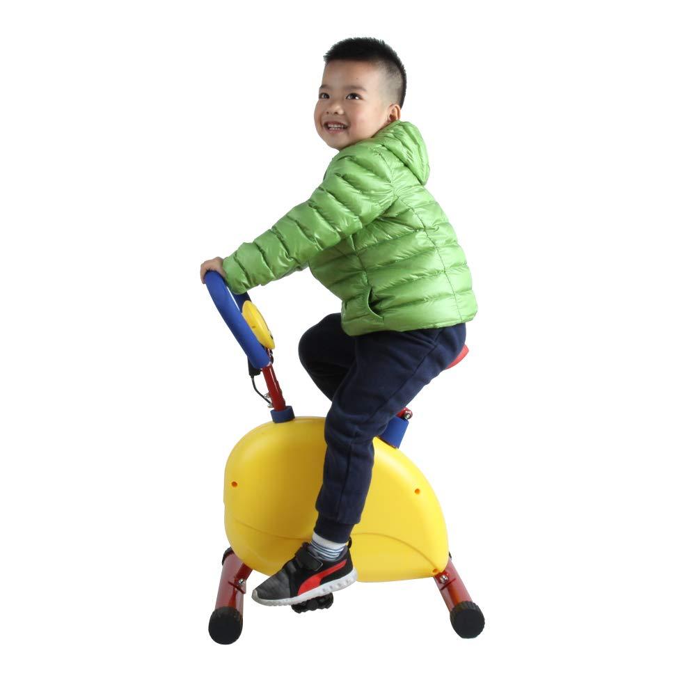 Akicon Kid's Bike Fitness Exercise Equipment,Birthday Gift (Happy Bike)