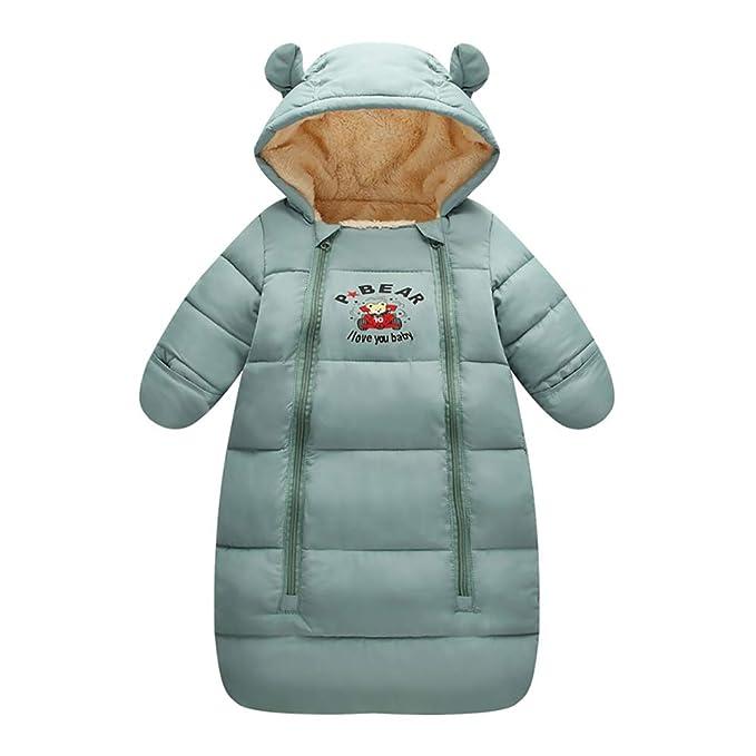 Amazon.com: EsTong - Saco de dormir con capucha para recién ...