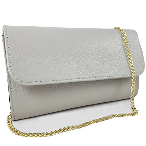 Freyday pour Italy Pochette Made Clair in Gris femme pvqRpwrxZ