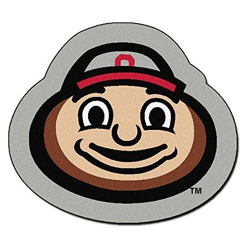 Fan Mats Ohio State Buckeyes Mascot Area Rug ()
