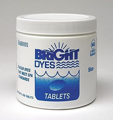 Dye Tracer Tablet,Blue,PK200