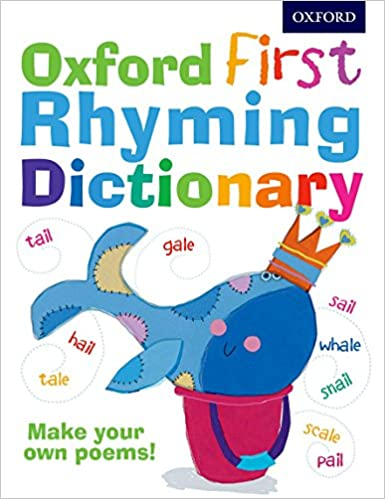 amazon oxford first rhyming dictionary childrens dictionary