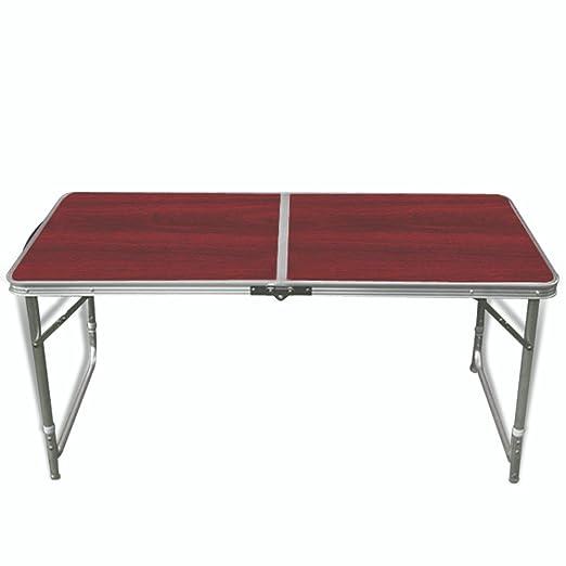 Velocidad mesa plegable mesa de camping Maleta mesa y taburetes ...