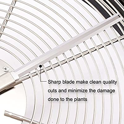 iPower GLTRIMBOWL16M 16-Inch Leaf Bowl Trimmer Twisted Spin Cut for Plant Bud and Flower with Upgraded Gears, silver : Plant Growing Light Fixtures : Garden & Outdoor