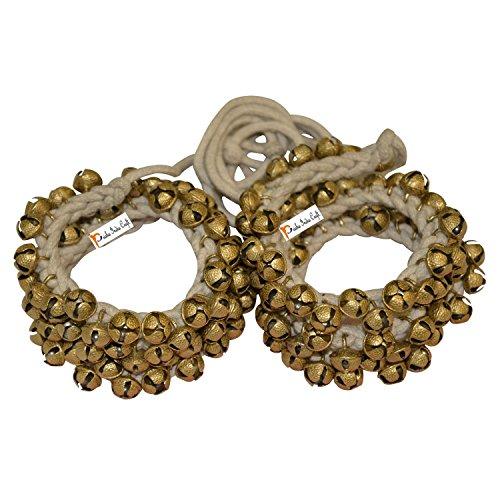 Prisha India Craft ® Kathak Ghungroo Pair, 16 No. Ghungroo Big Bell... 50+50