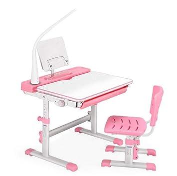 QKDSA Juego de sillas de Escritorio de Estudio para niños El ...