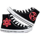 Naruto Anime Hatake Kakashi Sharingan Cosplay Shoes Canvas Shoes Sneakers