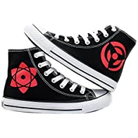 Naruto Anime Hatake Kakashi Sharingan Cosplay Shoes Canvas Shoes Sneakers