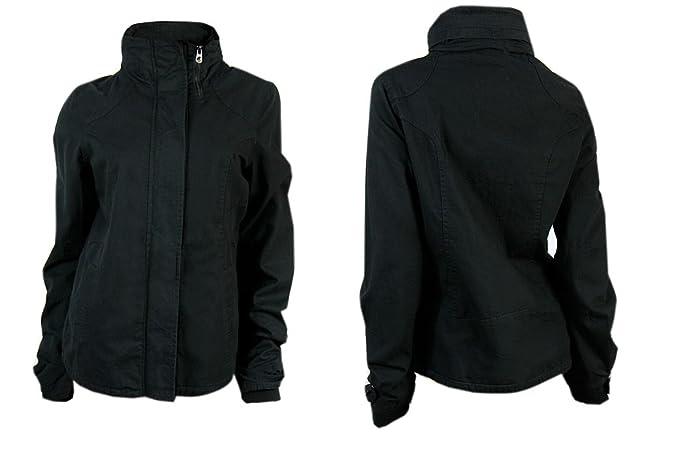 Soul Carl traje de neopreno para mujer chaqueta color negro tamaños 8 10 12 14 16