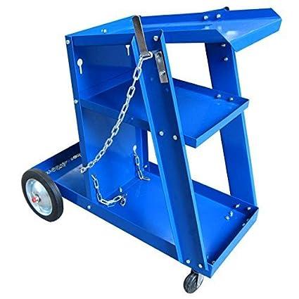 Mueble para soldador mueble soldadura con 3 estantes 2 colores AU chiox