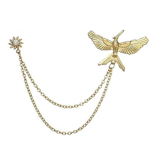 Amazon.com: Eagle Chapter broche pins sol flor Pin con ...