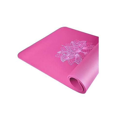 SGLI Engrosamiento de NBR ensanchado Largo Estera de Yoga ...