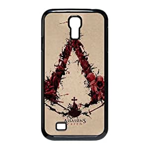 samsung s4 9500 case,samsung s4 9500 Cell phone case Black Assassin Creed-PUU4920034