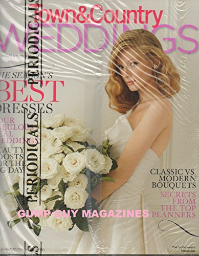 Wedding Old Style Wrappers (TOWN & COUNTRY 2012 Magazine & WEDDINGS Fall/Winter 2012 BOTH MAGAZINES NEW UNOPENED IN ORIGINAL PLASTIC WRAPPER 10 Amazing Destination Weddings ONCE-IN-A-LIFETIME HONEYMOONS Ali MacGraw:)