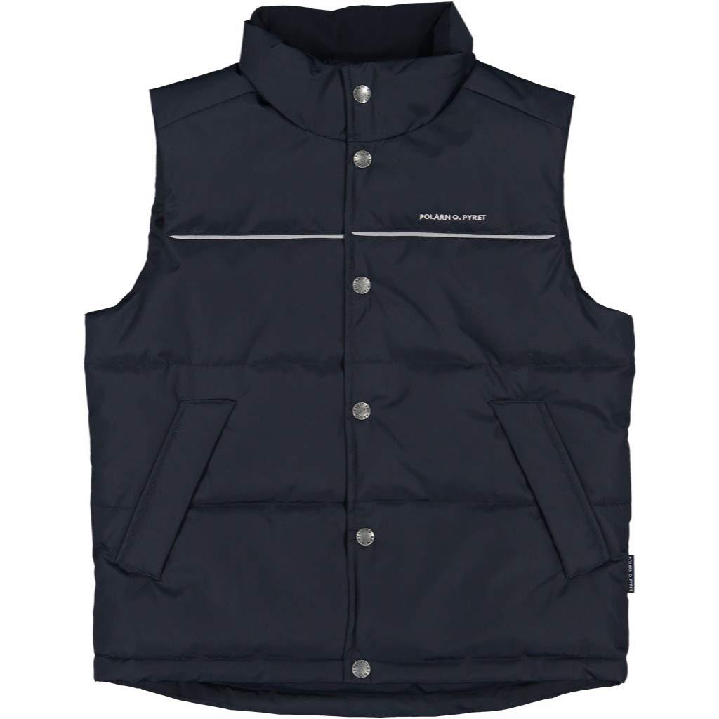 Polarn O. Pyret Versatile Puffer Vest (6-12YRS) - Dark Sapphire/8-9 Years by Polarn O. Pyret