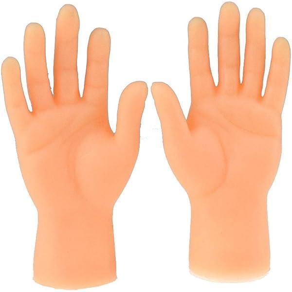 Novelty Funny Funny Set Of Two Finger Hand Finger Puppets