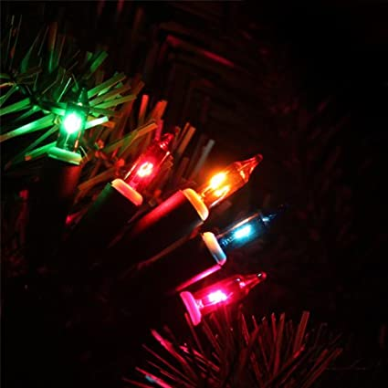 dede0323d Image Unavailable. Image not available for. Colour: Christmas Tree Lights  20 Multi Coloured Filament ...