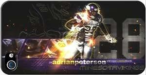 Minnesota Vikings NFL iPhone 4-4S Case v1 3102mss