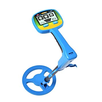 fosa Metal Detector for Kids and Beginners with LCD Display, Safe Portable Underground Metal Detector