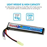 Tenergy Airsoft Battery 11.1V 1200mAh Stick LiPo