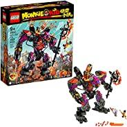 LEGO Monkie Kid: Demon Bull King 80010 Building Kit, Gift for Kids (1,051 Pieces)