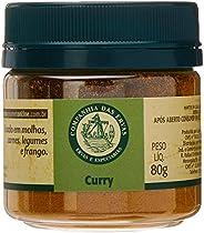 Curry Companhia Das Ervas 80g Pote Pet