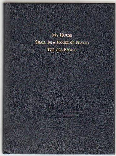 The Union Prayerbook Part I (Sinai Edition): Central