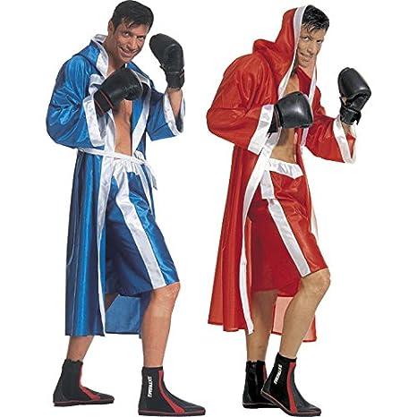 Disfraz rojo de boxeador para hombre, colores surtidos: Amazon.es ...
