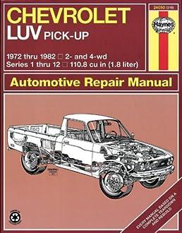 51R5SZ1RJHL._SX258_BO1204203200_ chevrolet luv pick up, 1972 82 (book no 319) amazon com books 1980 Chevy Luv 4x4 at readyjetset.co