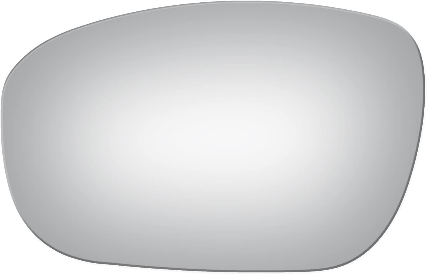 Flat Driver Left Side Replacement Mirror Glass for 2005-2010 Chrysler 300-300C