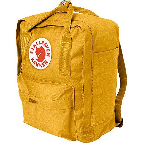 Fjallraven Kanken Mini Backpack (Ochre) - Kanken Mini Backpack