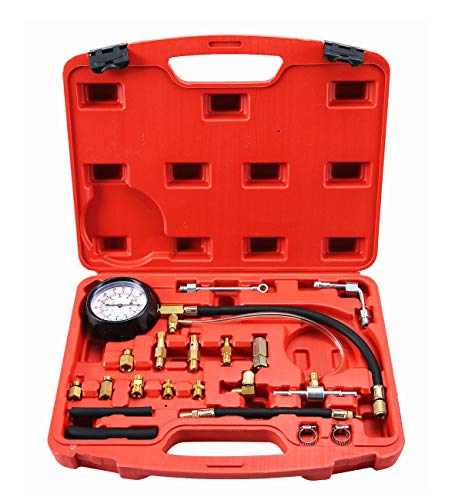 (ATP 0-140 PSI Fuel Injection Pump Injector Tester Test Pressure Gauge Gasoline Cars)