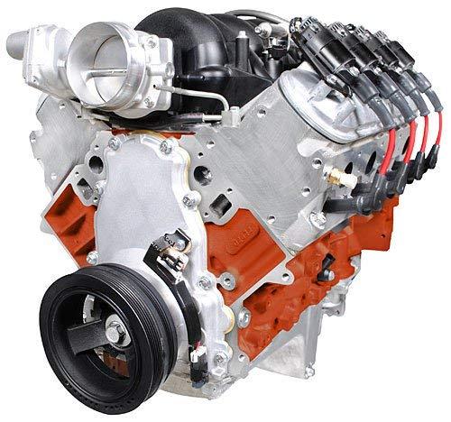 (Blueprint Engines PSLS4272CTF LS 427ci Dress Retrofit FI Engine Fuel Injected 62)