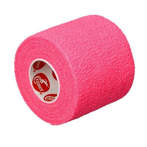 Cramer Eco-Flex Self-Stick Stretch Tape, Cohesive Tape, Flexible Elastic Sports Tape, Athletic Training Room Supplies, Easy Tear & Self-Adherent Bandage Wrap, 2