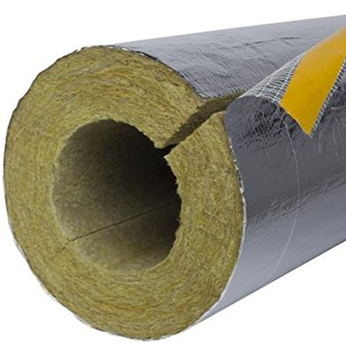 1m Rohrschale Alu PLUS 30mm D/ämmst/ärke f/ür 15mm Rohrdurchmesser Heizungsrohr Rohrisolierung Isolation